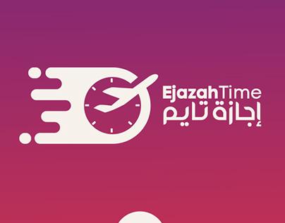 Ejaza Time - Branding LOGO