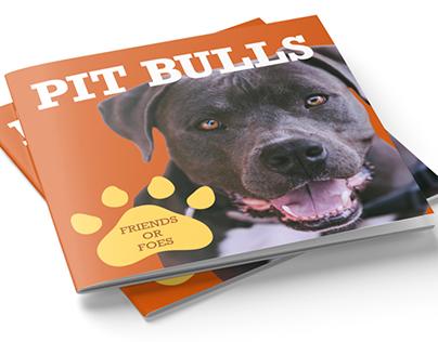 Pit Bulls: Friends or Foes Brochure