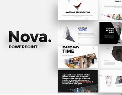 Free - Nova Powerpoint Template