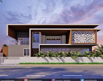 Modern House Design   Two Storey House