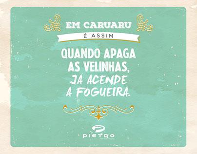 Pietro - Aniversário de Caruaru.