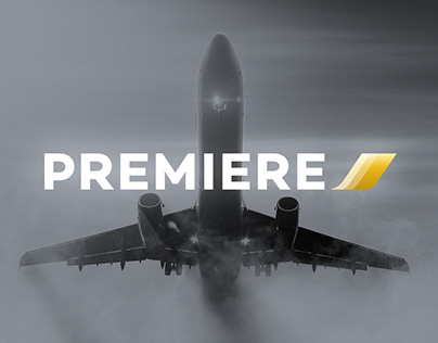 Premiere By AirFrance Identity System Design