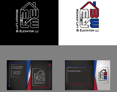 Logo and Business card designed for a MWLE Distributor