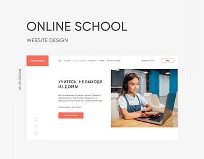 Website for online school