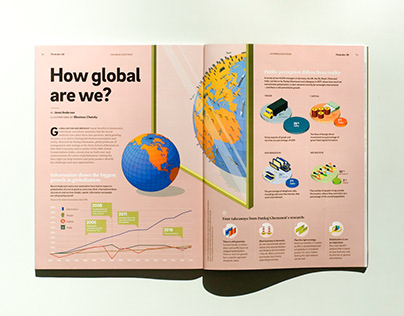 Infographic: How global are we / Think:Act magazine