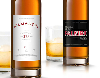 Whisky Label Design