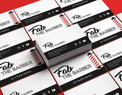 Fab The Barber | Branding