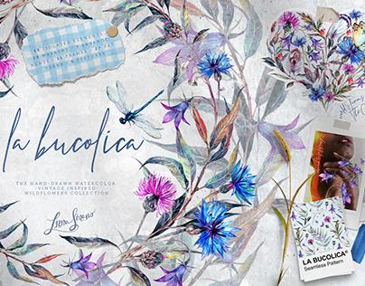 La Bucolica | Meadow Wildflowers Set