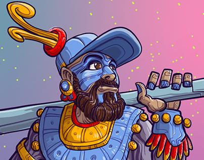 Character Design Challenge - Aztec Warrior