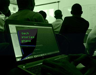 Tech Stories Logo Design