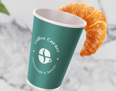 Coffee Corner Branding