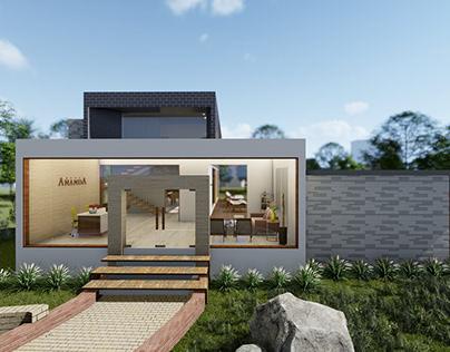 Club House Architecture for Ananda Villaments