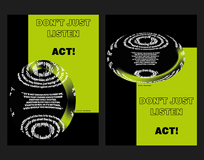 'Don't Just Listen' campaign