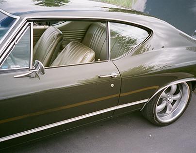 Classic Cars on 135 Film.