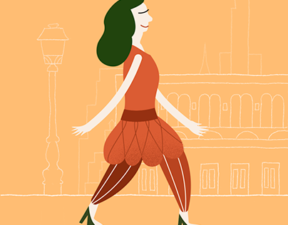 Walking in NYC - Animation