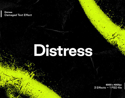 Distress Designed by Studio 2am