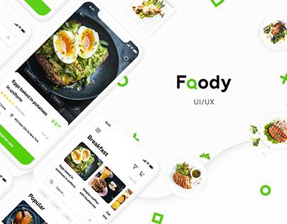 Foody mobile app design | Ui/Ux
