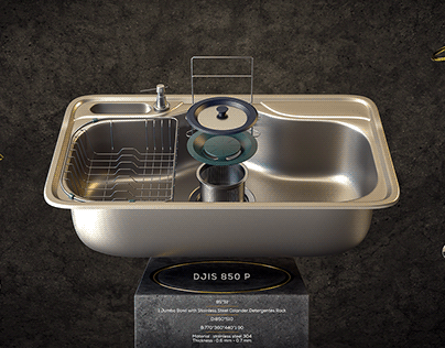 3D - HANS - Kitchen appliances - AD concept
