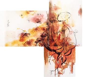 Flora infraganti Postcard