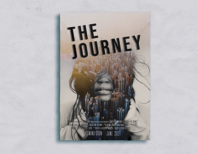 The Journey [Double Exposure Poster]