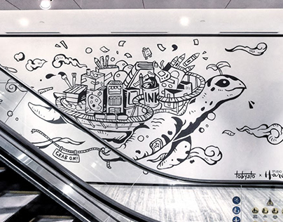 Studio Haroobee Wall Mural