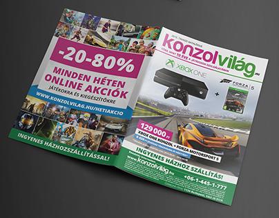 Konzolvilág catalog - spring catalog | 1 million unit