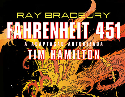 Fahrenheit 451 | COMIC BOOK DESIGN