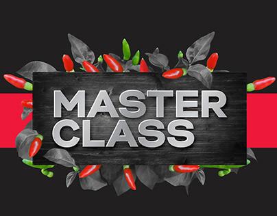 Campanha de pré-lançamento Master Class
