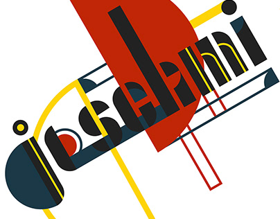 "Logo for Bauhaus Typography ""Joschmi"""
