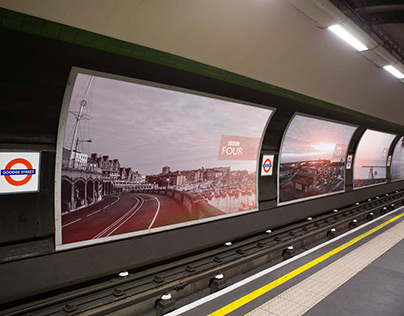 BBC Four - Time and Place - Underground Advertising
