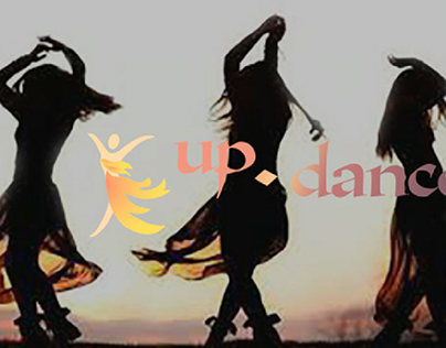 "Logo for the dance studio ""up.dance"""