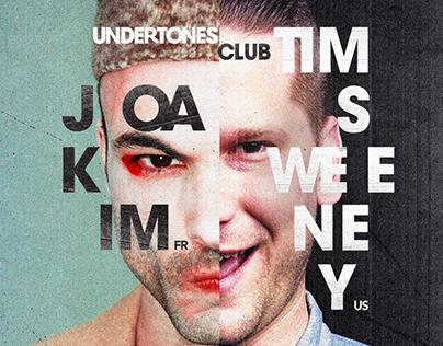 Undertones Party Flyer