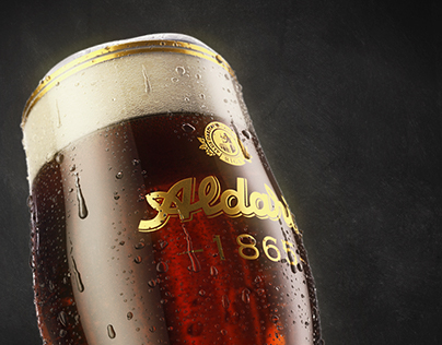 Aldaris Beer Renders