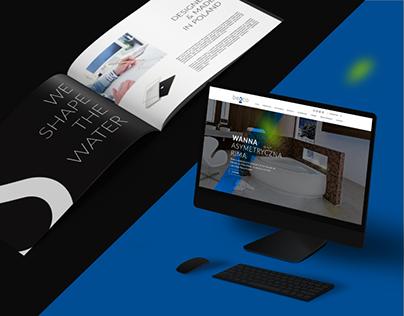 besco - website & print design