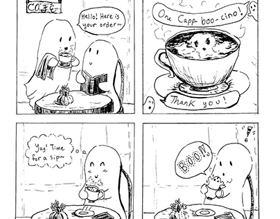 One Cappboocino, Please: A Spooky Little Comic