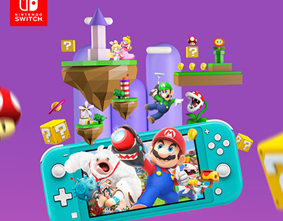 Nintendo Switch Lite (Design Interfaz)