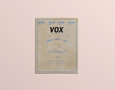 Vox Magazine Cover Design 2019 May Issue
