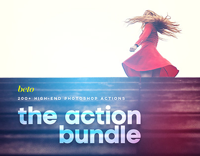 Photoshop Action Bundle By: Beto