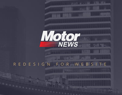 Redesign for Motor News