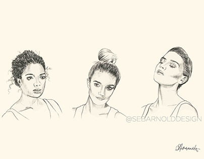 Makeup Illustration concepts