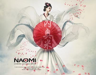 Naomi key visual