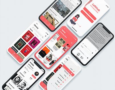 LeftHub UI Design Concept