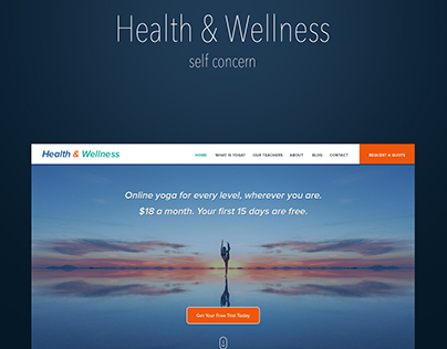 Health & Wellness Theme