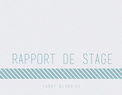 Rapport de Stage 2015