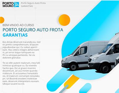 Proposta visual Porto Seguro - Treinamento on-line