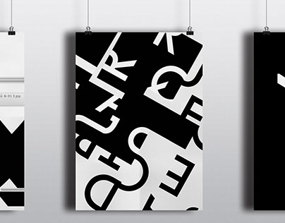 Typographic posters/abstraction