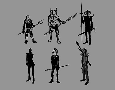 Character Design - Silohuettes
