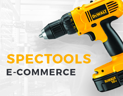Web-design of e-commerce site Spectools