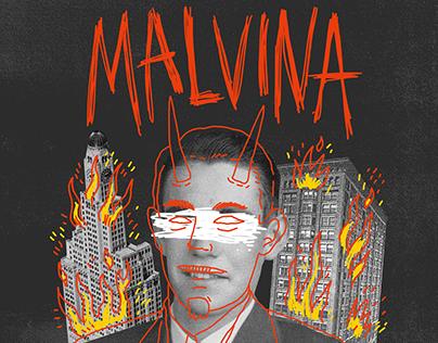 Posters Hybrid War Tour | Malvina