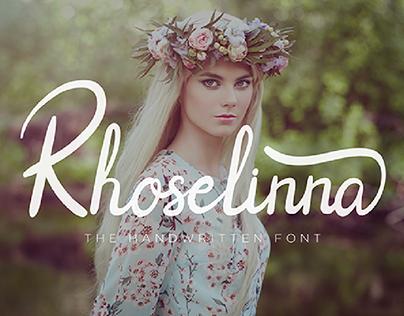 Rhoselinna Handwritten Font (Free)